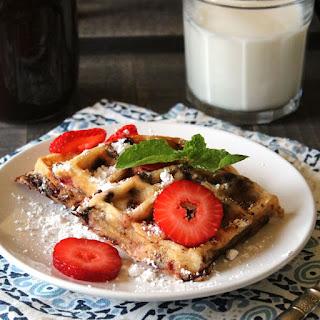 Strawberry Chocolate Chip Waffles Recipe