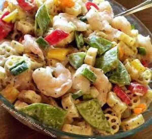 Calico Cauliflower Pasta Salad