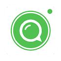 Alien chat - video call icon