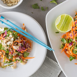 Ginger Carrot Salad with Mint.