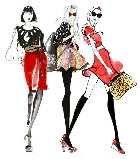 Fashion illustrations- screenshot