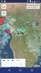 StormTrek: gewitter nowcasting Screenshot