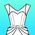 Fashion Design Flat Sketch download
