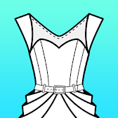 Fashion Design Flat Sketch APK Icon