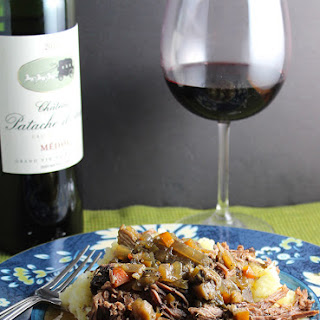 Bordeaux Braised Beef #winophiles