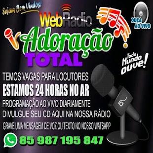 Rádio Adoração Total - náhled