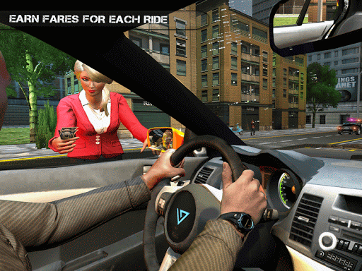 Pro TAXI Driver Crazy Car Rush 1.0.4 screenshots 7