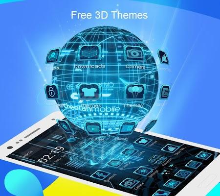 CM Launcher 3D - Theme,wallpaper,Secure,Efficient - screenshot