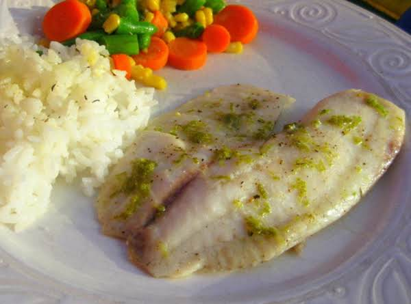 Coconut Lime Talapia