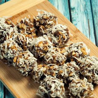 Coconut Date Balls.