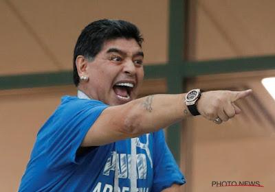 La FIFA a décidé de recadrer Maradona après des déclarations tapageuses sur l'arbitrage