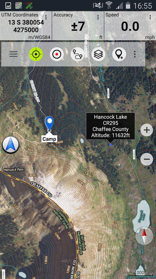 US Topo Maps Free Android Apps On Google Play - What map data to use with utm in us