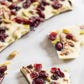 Cranberry Pistachio Bark