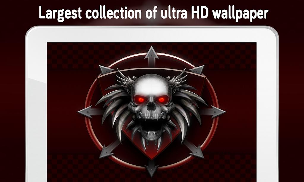 Descargar Skull Wallpaper 4k Apk última Versión 12 Para
