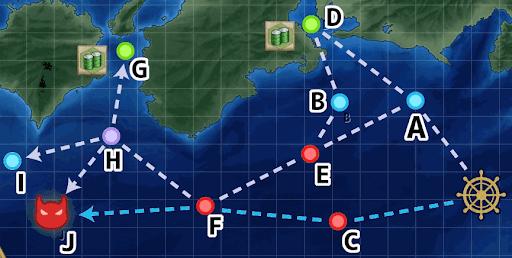 1-3 空母ルート