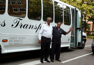 Photo: Our bus drivers