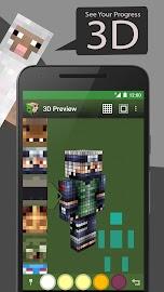 Skin Editor Tool for Minecraft Screenshot 4