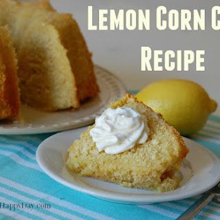 Lemon Corn Cake