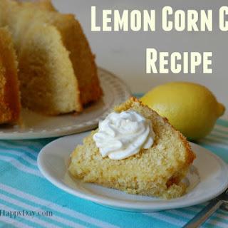 Lemon Corn Cake