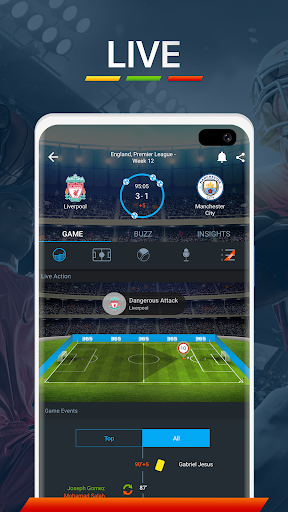 365Scores - Live Scores and Sports News 10.8.2 screenshots 2