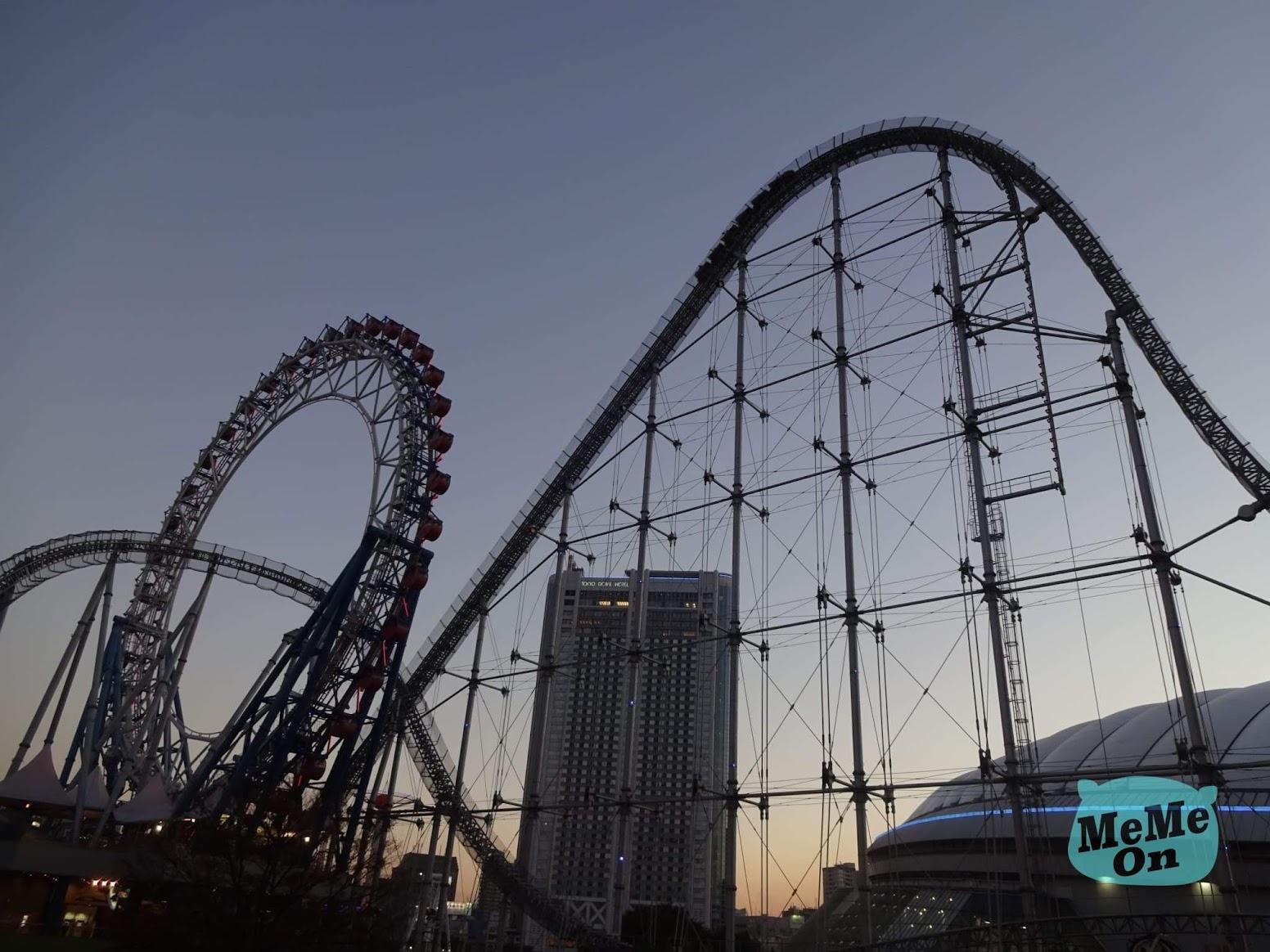 《 戀愛可以持續到天長地久》聖地巡禮ー 東京巨蛋城 遊樂園