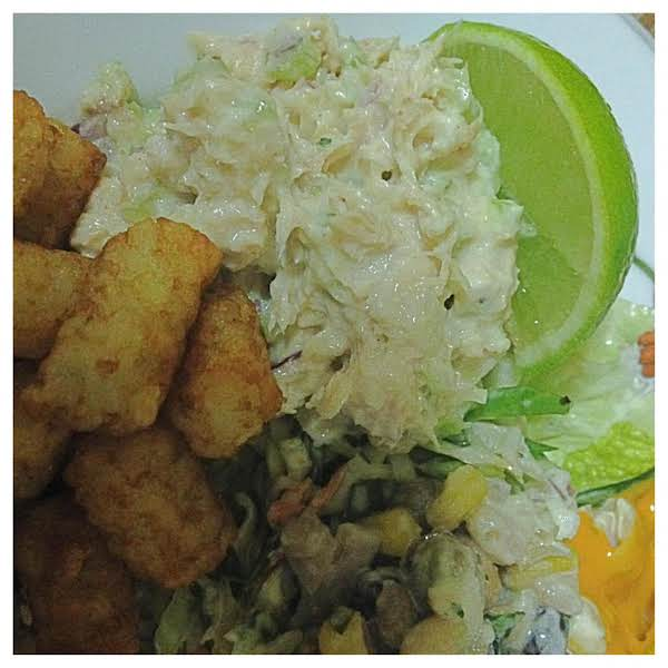 Ash Wednesday Tuna Salad Plate Recipe