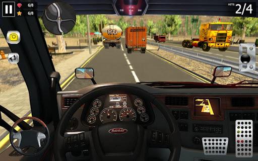 Cargo Truck Driving Simulator 2019  captures d'u00e9cran 2