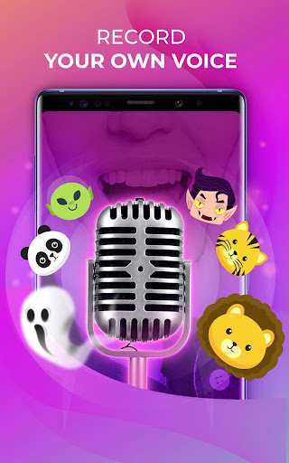 Voice Changer u2013 Amazing Voice with Audio Effects 1.0.9 screenshots 1
