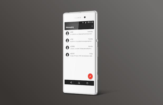 Turmo Theme for Xperia - screenshot