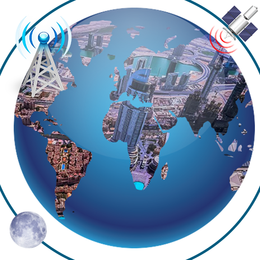 GPS Location Tracker Global Earth Map & Satellite
