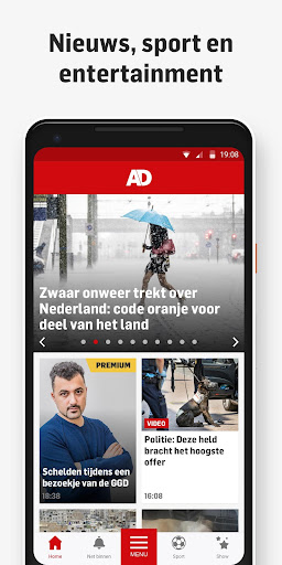 AD - Nieuws, Sport, Regio & Entertainment 5.1.13 app download 1