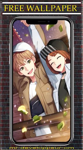 Anime Couple Wallpaper HD screenshot 2