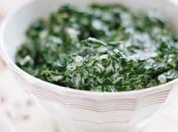 My Favorite Creamed Spinach Recipe
