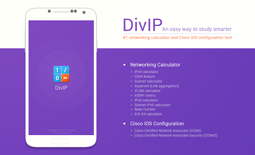 DivIP+ ★ VLSM SUBNET IP IOS