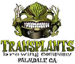 Logo for Transplants Brewing Company