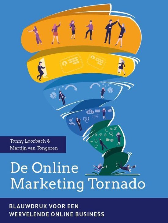 Voorbeeld boek: De Online Marketing Tornado