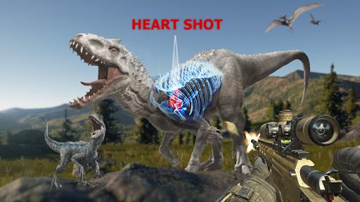 Dino Hunter - Wild Jurassic Hunting Expedition apktram screenshots 1