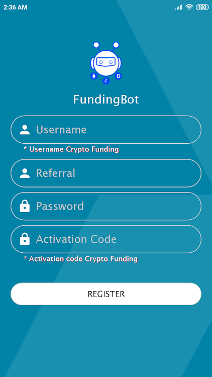 Funding Bot – (Android Apps) — AppAgg