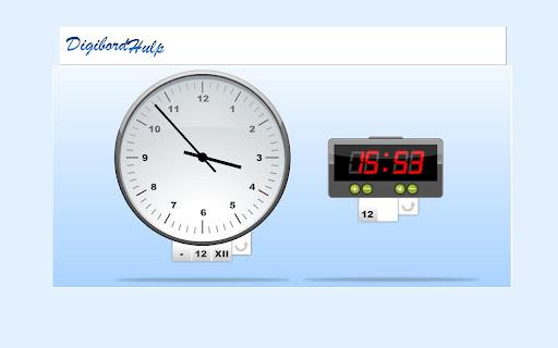 Clock screenshot 2