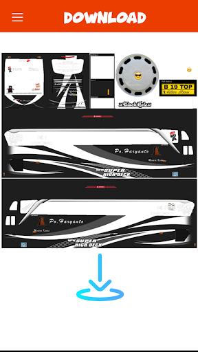 Livery Bussid PO Haryanto V2 1 screenshots 5