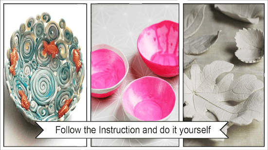 Beauty DIY Clay Bowls - náhled