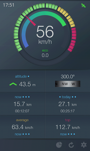 EcoDrive Free Speedometer screenshot 17