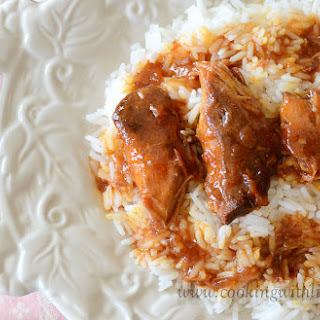 Russian Apricot Chicken {Slow Cooker Monday}.