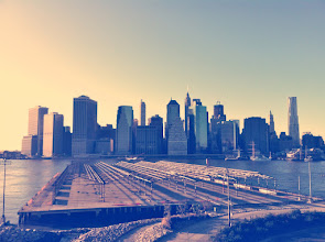 Photo: Downtown Manhattan from Brooklyn Heights