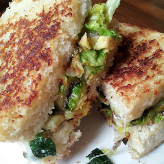 Brussel Sprouts Grilled Cheese.