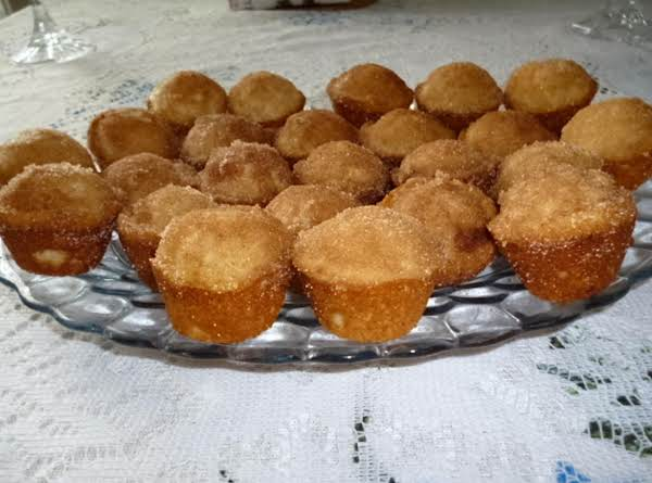 These Are Small And Delicious. Dip Only The Top In Butter And Sugar-cinnamon Mix. These Are Also Cute Little Desserts For A Party.
