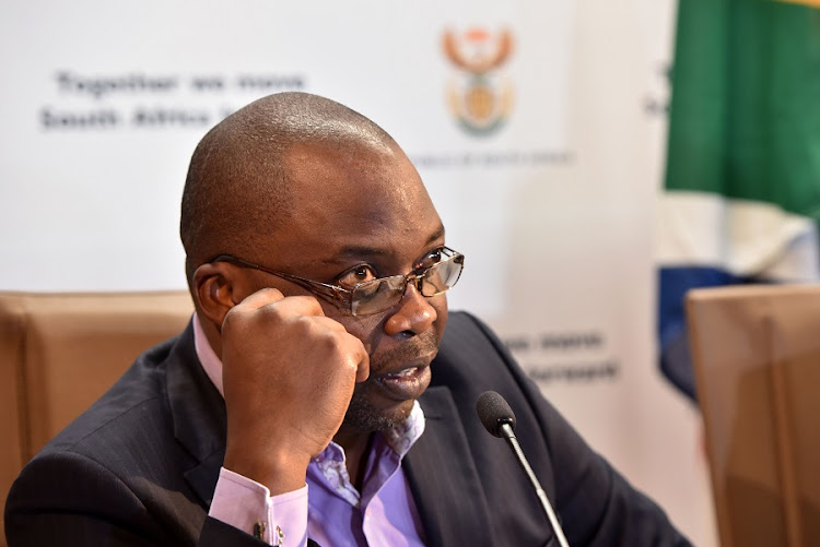 Justice and Correctional Services Minister Michael Masutha. Picture: NTSWE MOKOENA