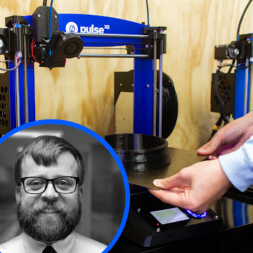 MatterHackers Education Ambassador Bill White reviews the Pulse XE 3D printer