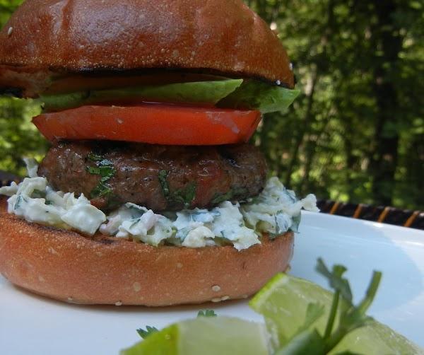 Tinga Hamburguesas With Cotija-lime Slaw Recipe