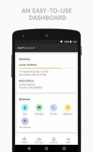Swift Backup 2.2.0 screenshots 1